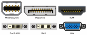 monitor display ports