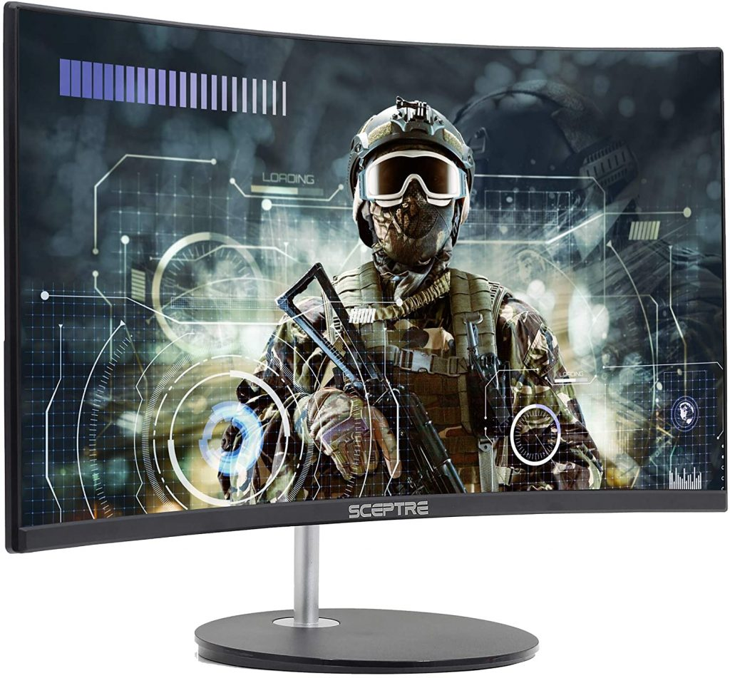 best Curved Gaming Monitor With Speakers